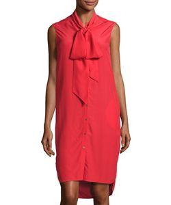Belstaff | Ramsay Silk Sleeveless Shirtdress