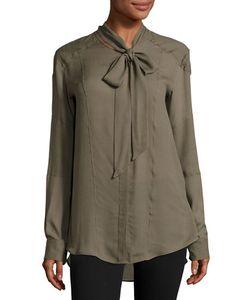 Belstaff | Hammond Tie-Neck Shirt