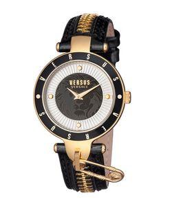Versus | 37mm Key Biscayne Ii Watch W Leather Zipper Strap