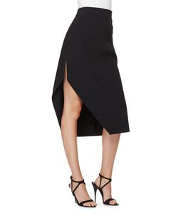 Narciso Rodriguez | High-Waist Asymmetric Skirt