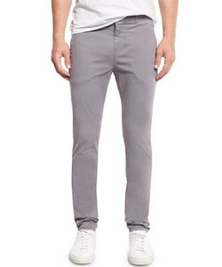 J Brand Jeans | Brooks Slim-Fit Twill Trousers Neptune