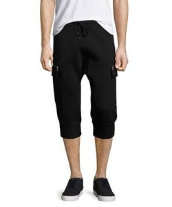 Helmut Lang | Cropped Cargo Track Pants