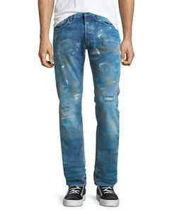 Prps | Liberation Distressed Slim-Fit Jeans