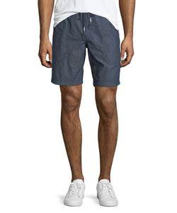 Michael Bastian | Chambray Pull-On Shorts