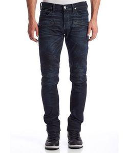Hudson   Blinder Biker-Style Jeans Dark