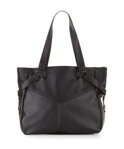 French Connection | Kate Faux-Leather Tote Bag Black Womens