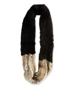 Jocelyn | Colorblock Knitted Cowl Collar
