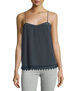 Zadig & Voltaire | Sweetheart Scalloped Silk Camisole