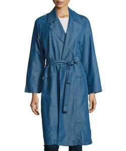 M.i.h Jeans | Carmel Chambray Trench Coat