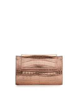 Nancy Gonzalez | Flap Crocodile Clutch Bag