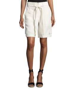 Helmut Lang   Belted Relaxed Cargo Shorts