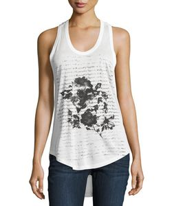 Haute Hippie | In Pursuit Of Happiness Floral Tank