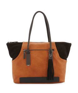 French Connection | Camden Suede-Trim Tote Bag