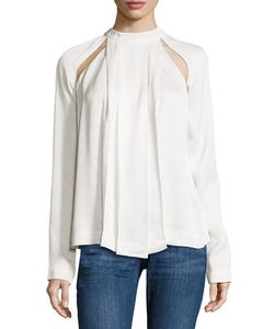 C/Meo | Cant Resist Cutout Satin Top