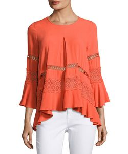 Cirana | 3/4-Sleeve High-Low Blouse