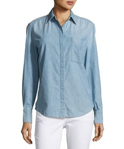 Vince | Oversized Chambray Shirt