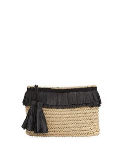 San Diego Hat Company | Crochet Paper Clutch With Fringe
