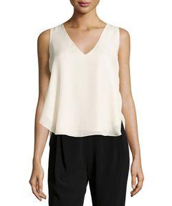 Derek Lam 10 Crosby   Sleeveless V-Neck Top Blush Womens Size 4