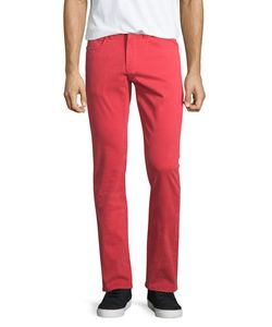 J Brand Jeans | Kane Slim Straight-Leg Jeans Cape Red Mens Size 38