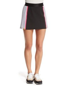 Monreal London | Squad Perforated Jersey Skirt