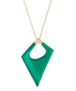 Alexis Bittar | Long Geometric Lucitereg Pendant Necklace Jungle