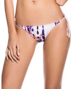 Ondademar | Colorfield Printed Side-Tie Bikini Bottom