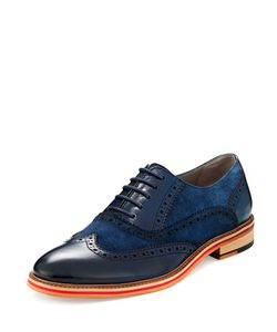 English Laundry | Wanstead Leather Suede Brogue
