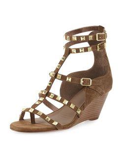 Ash | Dafne Studded Wedge Sandal