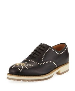 Valentino | Studded Leather Oxford