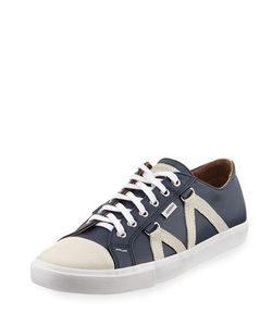 Michael Bastian | Signature Leather Lace-Up Sneaker