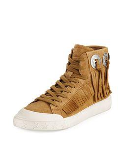 Ash | Marlow Fringe Suede High-Top Sneaker