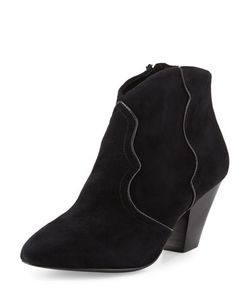 Ash | Gang Suede Pointed-Toe Bootie
