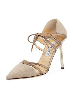 Jimmy Choo | Hme Fabric 100mm Pump