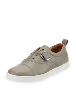 Michael Bastian | Ossie Mixed Leather Denim Sneaker
