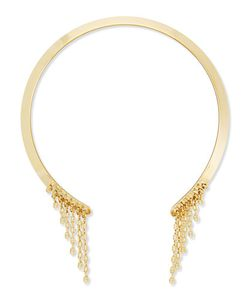 Dannijo | Veda Plated Collar Necklace