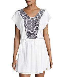 Ondademar | Oasis Hues Short Coverup Dress