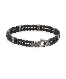 Stephen Webster | S Thorn Onyx Sapphire Beaded Bracelet