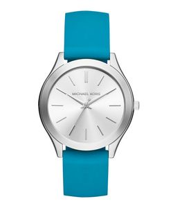 Michael Michael Kors | 42mm Slim Runway Watch W Silicone Strap
