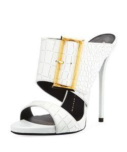 Giuseppe Zanotti | Coline Slide Dress Sandal Bianco