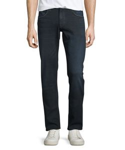 Hudson | Slim Straight-Leg Denim Jeans Polaris Mens Size 36