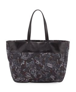 Salvatore Ferragamo | Nylon Leather-Trim Tote Bag