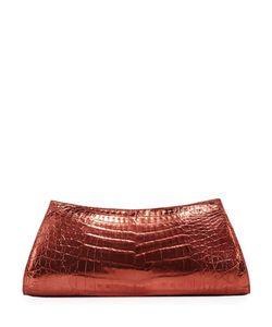 Nancy Gonzalez | Asymmetric Crocodile Clutch Bag