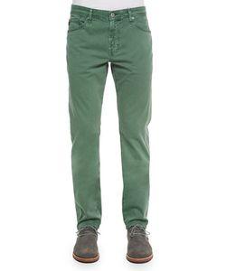 Alexa Chung for AG | Graduate Sulfur Grass Sud Jeans