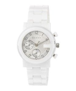 Gucci | G-Chrono Ceramic Watch White
