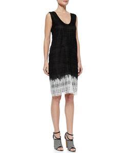 Derek Lam | Sleeveless Guipure Lace Shift Dress