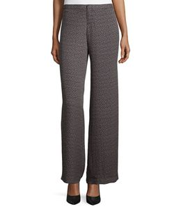 Haute Hippie | Mid-Rise Wide-Leg Trousers