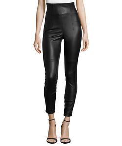Kaufmanfranco | High-Waist Leather Leggings