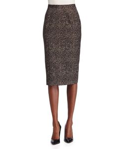 Michael Kors Collection | Seamed Wool Pencil Skirt