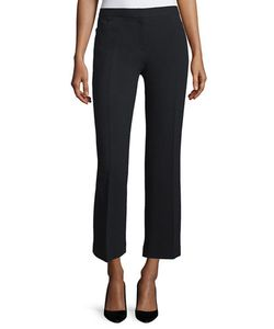 The Row | Floc Mid-Rise Straight Cropped Pants