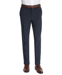 Incotex | Standard-Fit Striped Seersucker Trousers